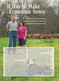 It Has to Make Economic Sense Tom Murray