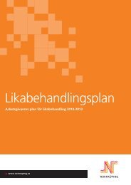Plan för likabehandling 2010-2012 - Hur ska vi uppnå målen?