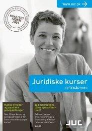 Advokatkurser - juridiske kurser - juc.dk