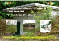 Herbestemming munitiecomplex Scherpenberg - Ontwikkeling ...