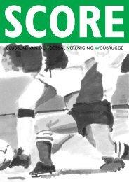 clubblad van de voetbal vereniging woubrugge - Sporthal Oudendijk