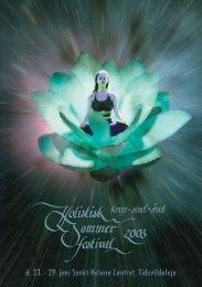 Program i PDF-format - Holistisk Sommerfestival