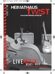 LIVEMUSIK - Heimathaus Twist