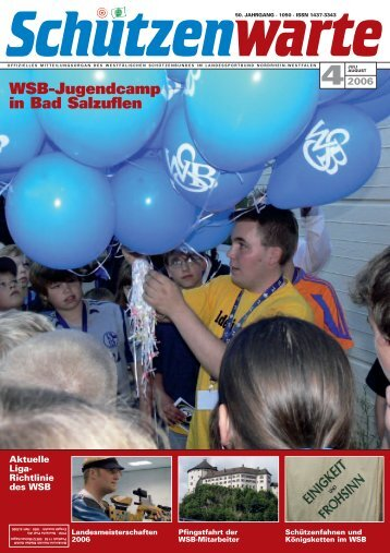 WSB-Jugendcamp in Bad Salzuflen - Schützenwarte - WSB