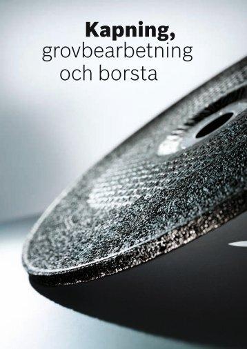 Kapning, grovbearbetning och borsta - Bosch elverktyg