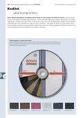 Kapning, grovbearbetning och borsta - Bosch elverktyg - Page 4