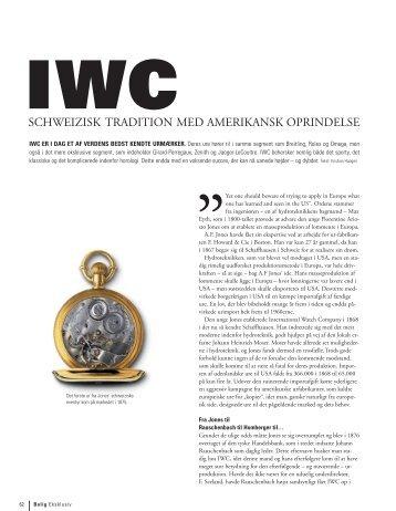 IWC - Timegeeks by Kristian Haagen