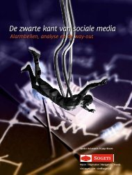 De zwarte kant van sociale media - VINT - Sogeti