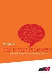 Werkboek 1 16 boeiende praktijken om taal van ... - Provincie Limburg