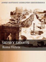 Sidney Smeets (pdf) - Jonge Historici Schrijven Geschiedenis