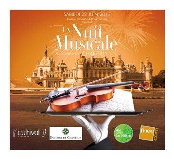 La Nuit Musicale au Domaine de Chantilly