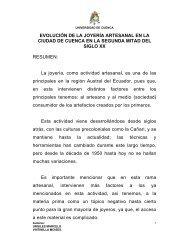 del joyero - Repositorio de la Universidad de Cuenca