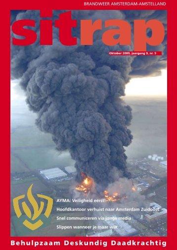 Sitrap oktober 2009 (PDF) - Brandweer