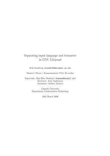 PDF 750k - LilyPond