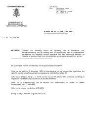 Ontwerp van koninklijk besluit tot vrijstelling van de - Privacy ...