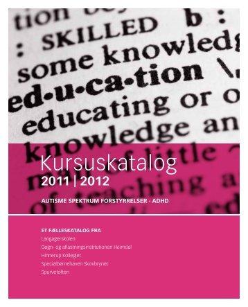 Kursuskatalog 2011-12 - Heimdal