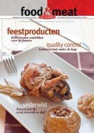 oktober 2011 - Food en meat
