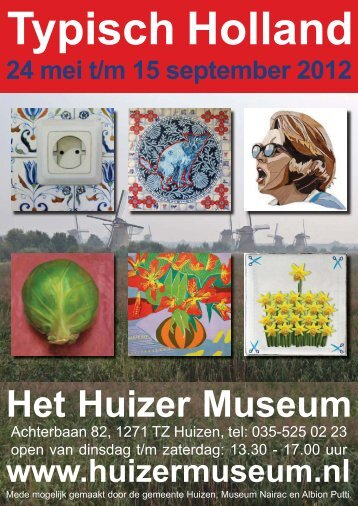 Typisch Holland in de media - Atelier Els Maasson