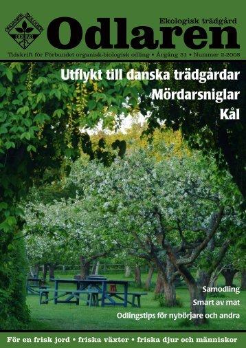 Utflykt till danska trädgårdar Mördarsniglar Kål - Monarda