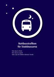 Kyrkgatan - Gunder Häggs väg - Trondheimsvägen ... - Nettbuss