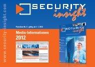 Anzeigenpreise und Formate - Security Insight