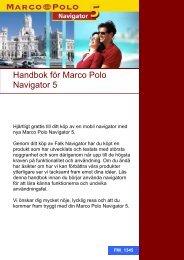 Handbok för Marco Polo Navigator 5 - Skandinavisk Energi Teknik