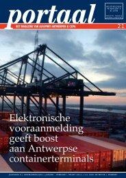 Elektronische vooraanmelding geeft boost aan Antwerpse ...