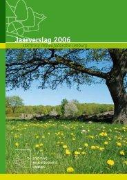 Jaarverslag 2006 - Milieufederatie Limburg
