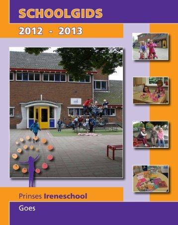 SCHOOLGIDS - Prinses Ireneschool
