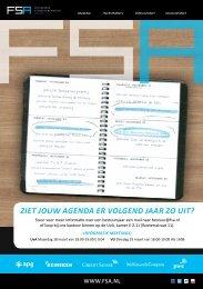 FINANCIËLE STUDIEVERENIGING Amsterdam - Fsa