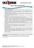 Secur tape polybacking - IRS Europe - Page 2