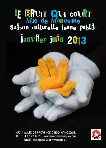 janvier juin 2013 - MJC-Manosque