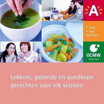 Receptenboek Lekker, gezond en goedkoop ( pdf , 3.45 MB)