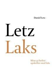 Daniel Letz Mine 50 bedste opskrifter med laks - Letz Shop