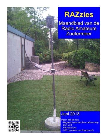 Juni - de PI4RAZ website
