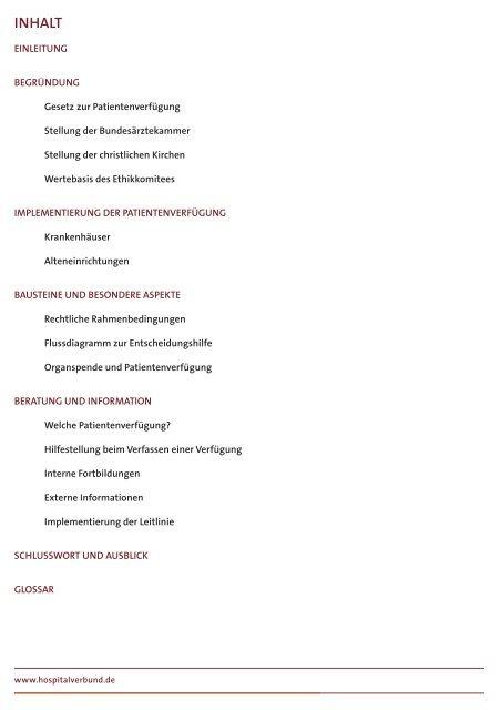 Umgang mit Patientenverfügungen - Marienkrankenhaus Soest