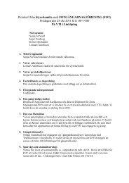 Styrelseprotokoll 111028 - FOT