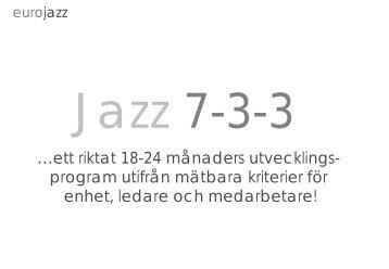 Ladda hem Jazz 7-3-3 - Eurojazz