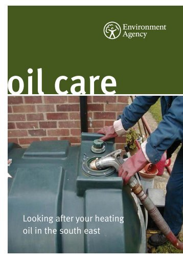 Environment Agency Oil Care Guidance