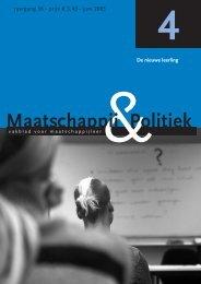 De nieuwe leerling - Maatschappij en Politiek Magazine