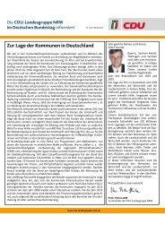 Newsletter 10/2013 - Peter Hintze, CDU