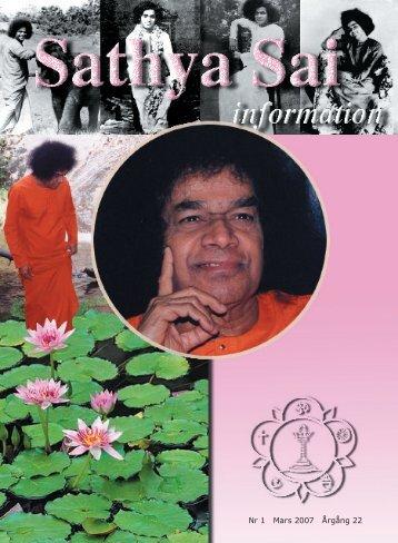 Mars 2007 - Sri Sathya Sai Baba Seva Organisation