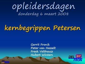 kernbegrippen Petersen