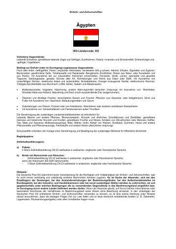 DHL Einfuhr- und Zollvorschriften  DHL Einfuhr- un...