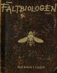 Fältbiologen 3/2011.pdf - Fältbiologerna