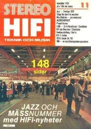 _ HiFi på Sheraton i Sloekholm - Transmission Audio