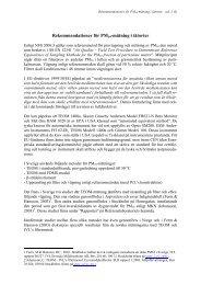 Rekommendationer för PM10-mätning i tätorter - ITM