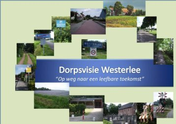 Dorpsvisie Westerlee - Werkgroep RO - Vereniging Dorpsbelangen ...