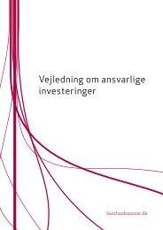 vejledning om ansvarlige investeringer baseret ... - Samfundsansvar