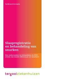 Slaapregistratie en behandeling van snurken [123kb] Keel ... - Tergooi